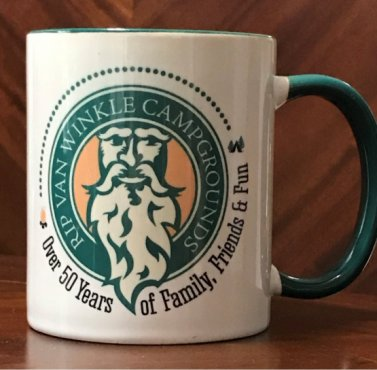 Rip Van Winkle Campgrounds Coffee Mug Image