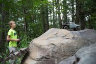 RC truck at RIP Van Winkle Campground RC Race Track in Saugerties NY