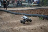 RC monster truck at RIP Van Winkle Campground RC Race Track in Saugerties NY