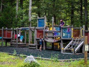 Fun Zones at Rip Van Winkle Campgrounds in Saugerties, NY
