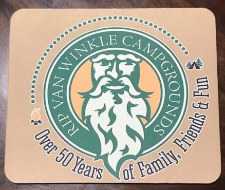 Rip Van Winkle Campgrounds Mousepad Image