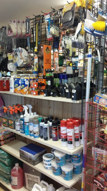 The General Store for Camping Supplies at Rip Van Winkle Campgrounds in Saugerties, NY