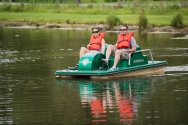 Rip Van Winkle Campground Pedal Boats