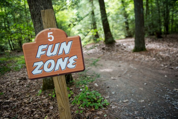 Fun Zone at Rip Van Winkle Campgrounds in Saugerties, NY