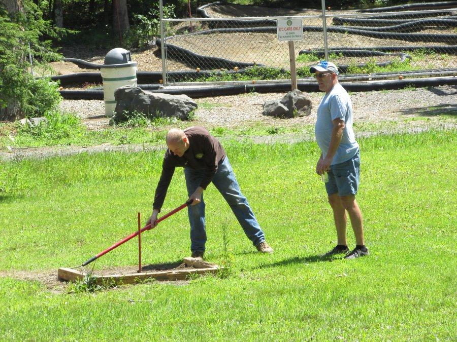 Horseshoe Pit Preparation