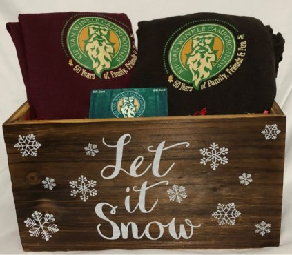 Rip Van Winkle Campgrounds Holiday Box Image