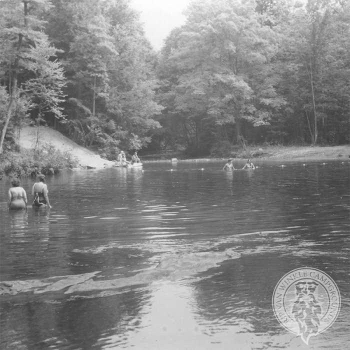 Years may pass but the swimming at Rip Van Winkle Campgrounds is always refreshing!
