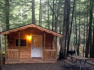 Catskills Cabin Rentals at Rip Van Winkle Campgrounds