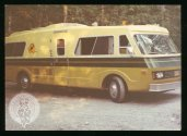 In 1974 we had a camper stay with us on their way from Australia heading to tour Russia in this (now) classic RV