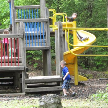 Children Playing on a playground