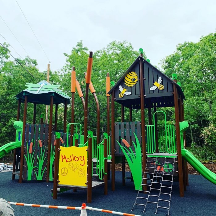 Playground At Rip Van Winkle Campgrounds