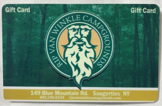 Rip Van Winkle Campgrounds Gift Card Image