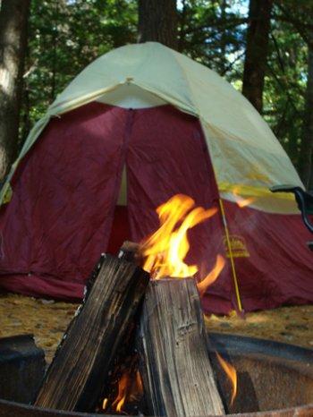 Lovers Lane at Rip Van Winkle Campgrounds